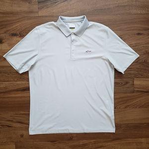Greg Norman Gray Golf Polo Size XXL